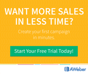 try aweber now for free