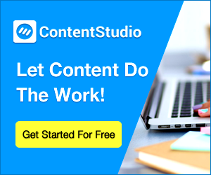 try contentStudio for free