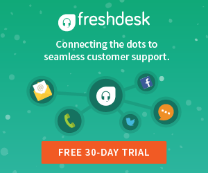 try freshdesk for fREE now