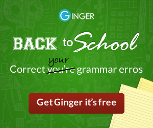 try ginger for FREE