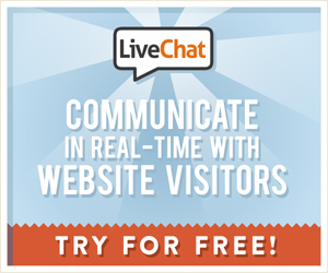 Try LiveChat Now For FREE