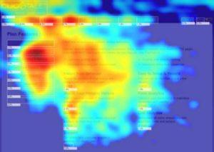 Confetti map