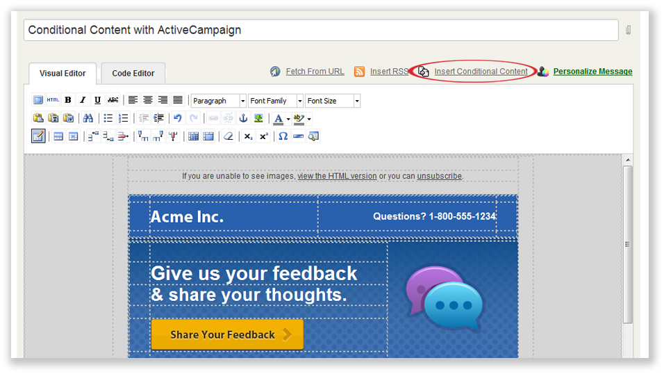 Length Cm Email Marketing Active Campaign