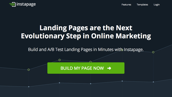 Instapage – Create Professional Landing Pages Within Minutes