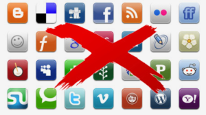 remove social media buttons