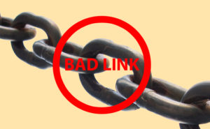 Bad Links Can Affect Your Reputation