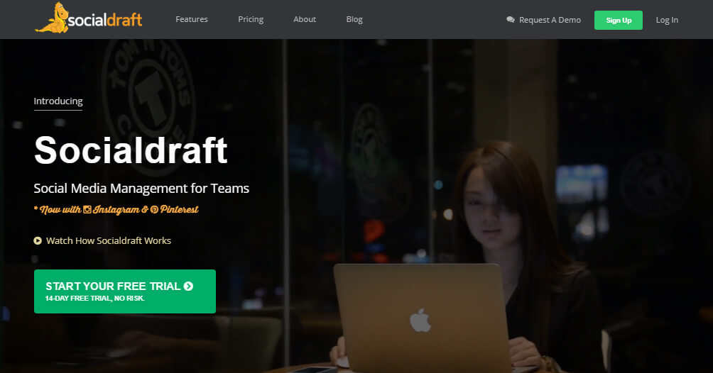SocialDraft – An Intuitive tool to Schedule Posts and Manage All Social Media Activities