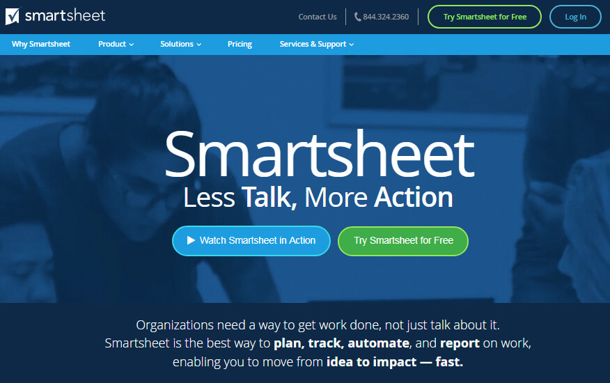Smartsheet Review