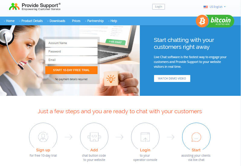 Provide Support live chat tool