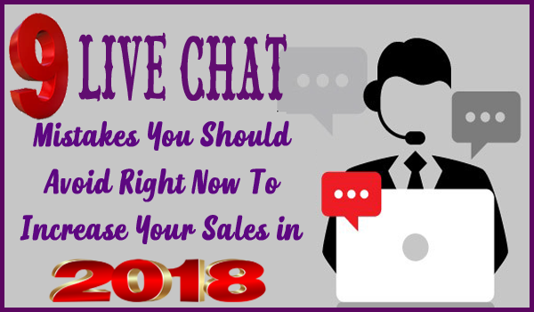 live chat mistakes to avoid