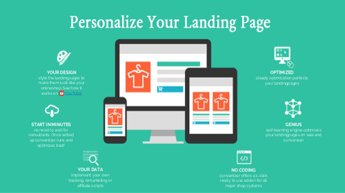 Personalize Your Landing Page