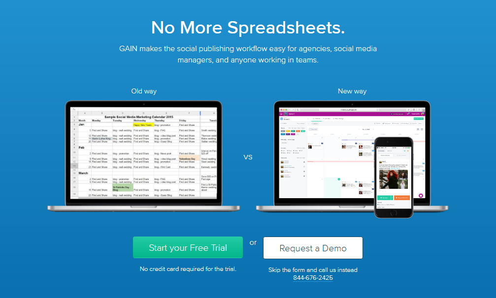GAIN Review- Best Way to Manage Your Social Media Approvals Automatically