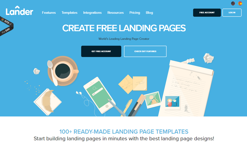 Lander Review- Build Beautiful Landing Pages With Ease