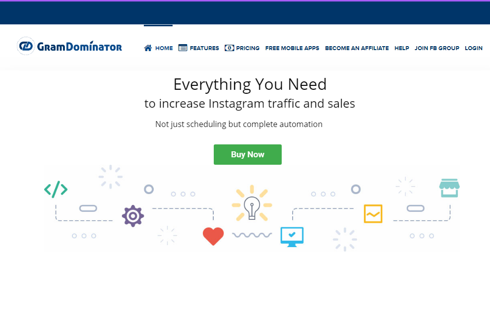 GramDominator Review- Best Automation Tool to Increase Instagram Traffic and Sales