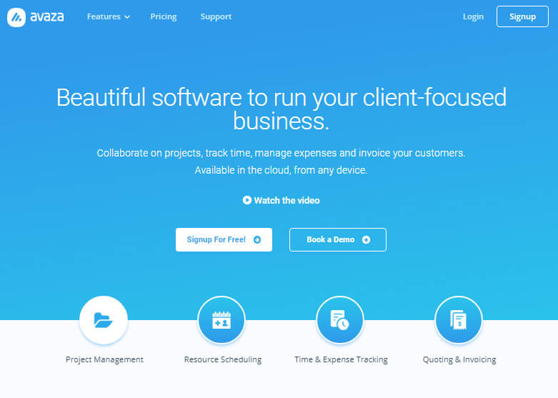 Avaza Review – An Advanced Way to Run Client-Focused Business like a Pro!
