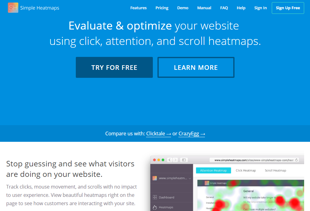 Everything You Need to Know About SimpleHeatmaps And How to Optimize your Website
