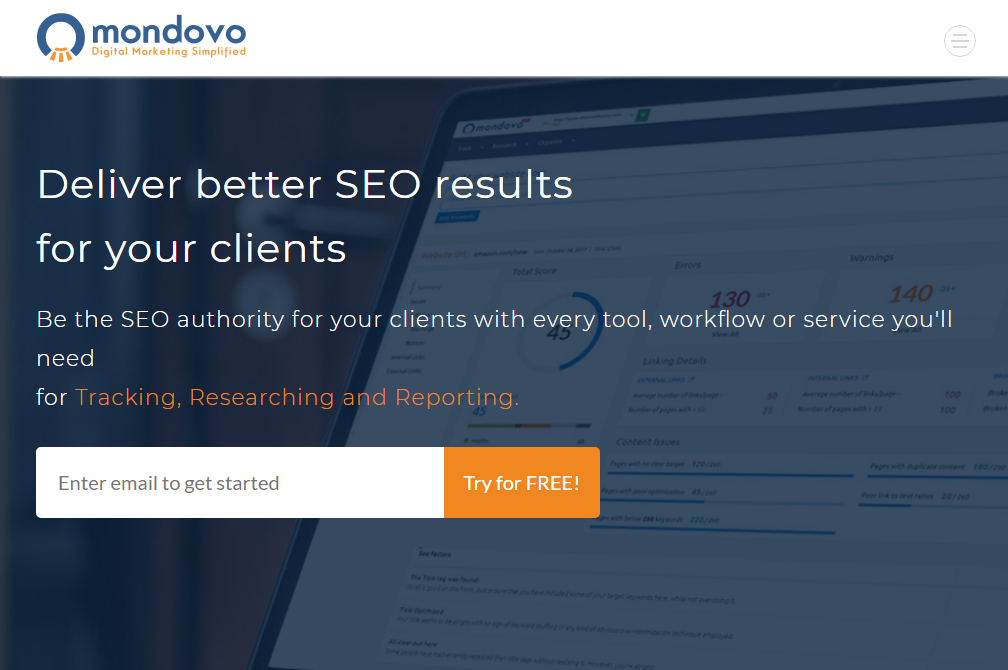 Mondovo Review- Best SEO Tool to Bring Out Better SEO Results