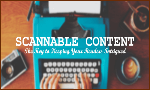 Keep Your Content Scannable