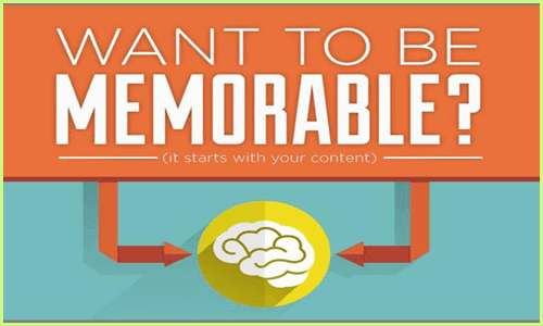 create memorable content