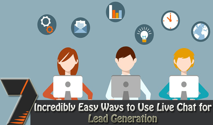 live chat to boost lead generation
